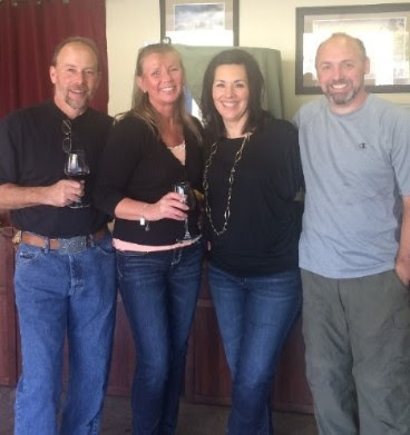 Meet our first Wine Club members, Perry & Debbie Monroe!